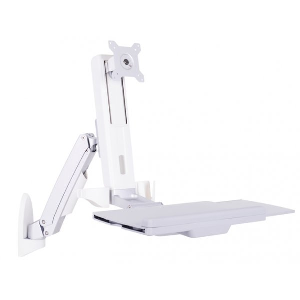 """Multibrackets M Workstation Arm Single Monitor Stand For 15 - 27\"""""""