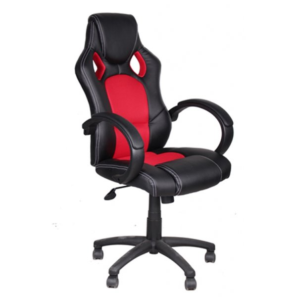 Alphason Daytona Red/Black Office Chair