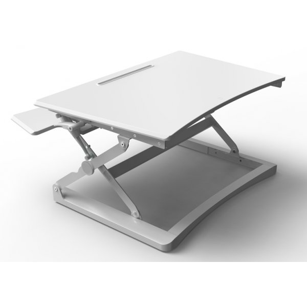 Core Products Sit-Stand Workstation - Medium White