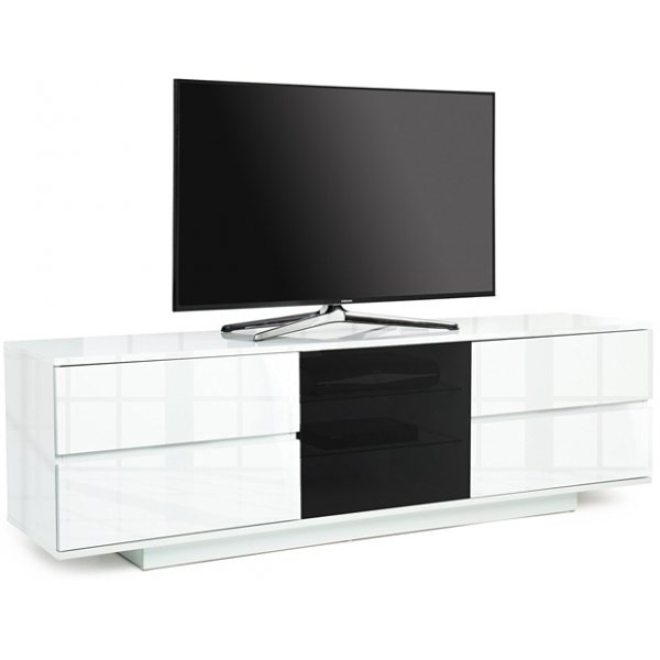 "MDA Avitus Ultra White TV Cabinet For 65"" TV\'s"