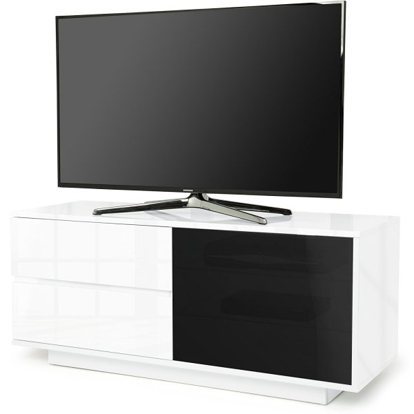 "MDA Gallus Ultra Gloss White TV Cabinet For 55"" TV\'s"