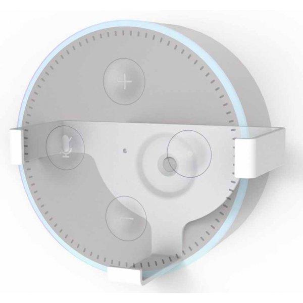 ValuConnect Wall Bracket for Amazon Echo Dot 2nd Generation - White