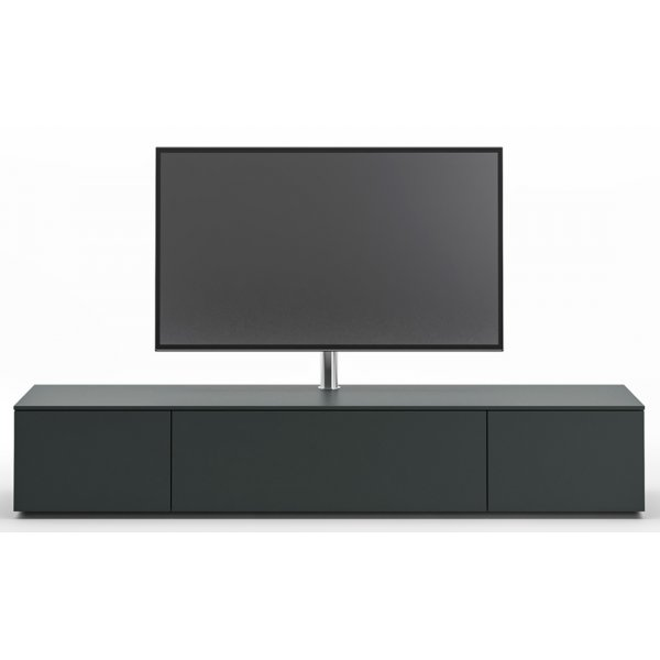 Spectral NEXT NXS2000 Black TV Cabinet with NX9000 Swivel TV Mount