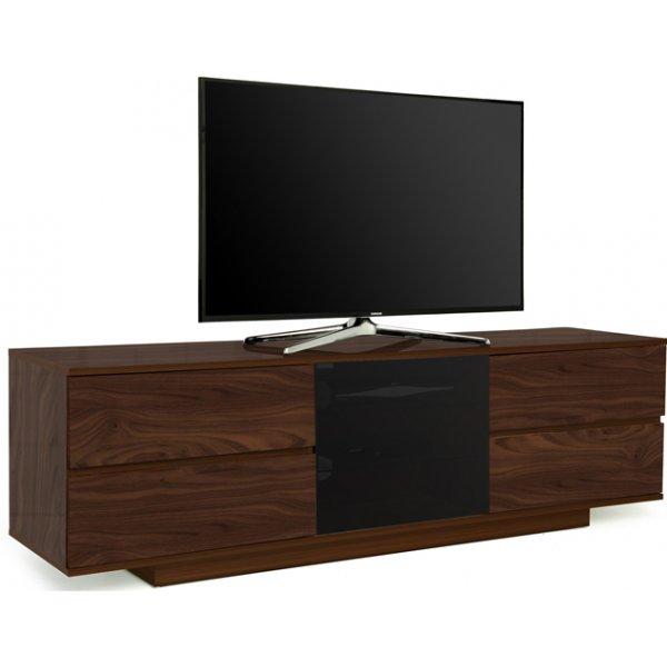 "MDA Avitus Ultra Gloss Walnut TV Cabinet For 65\"" TV\'s"