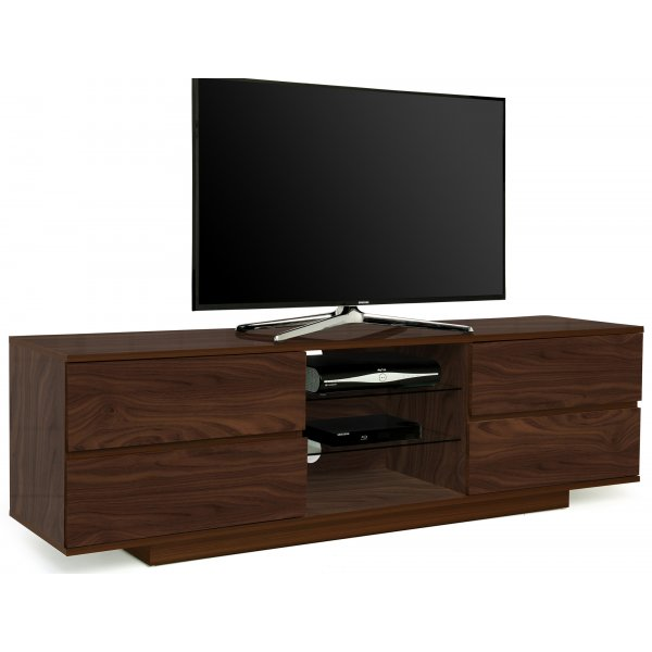 "MDA Avitus Walnut TV Cabinet For 65"" TVs"