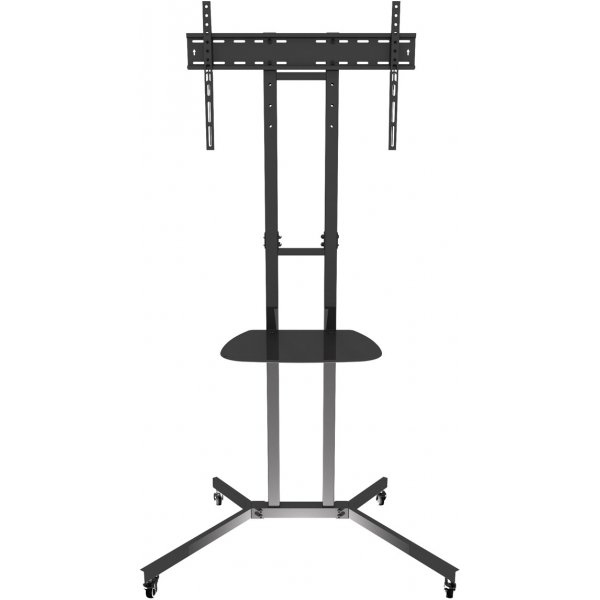 """AVF WFSL500 Black TV Cart for up to 60\"""" Screens includes shelf"""