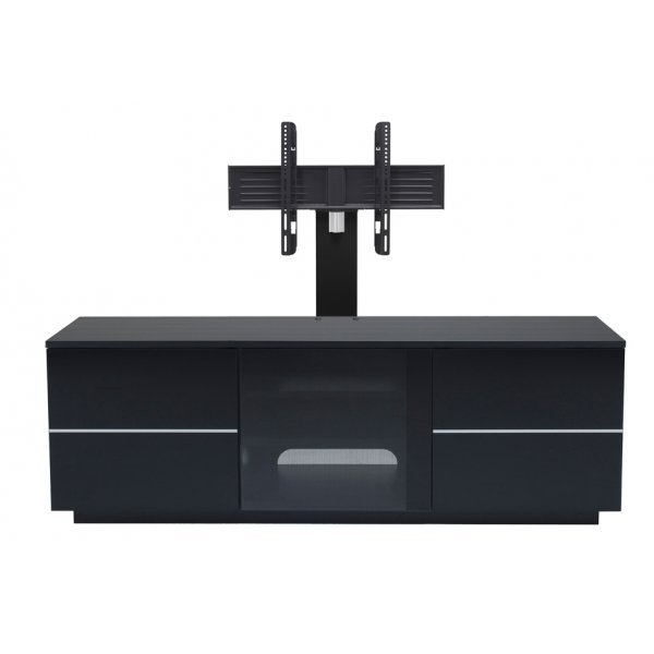"UKCF New London Black TV Stand with Bracket For up to 65"" TVs"