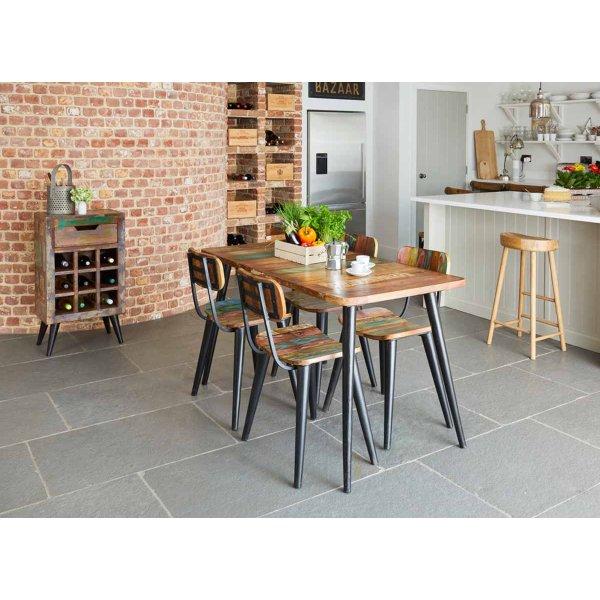 Baumhaus Coastal Chic Small Rectangular Dining Table