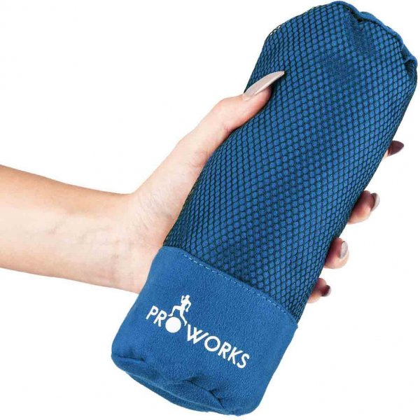 ProWorks Extra Large Blue Microfibre Towel