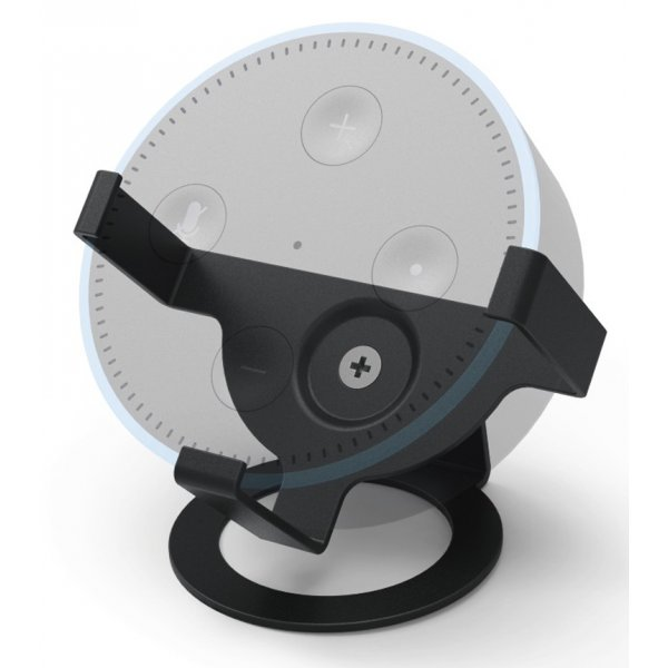 ValuConnect Desk Stand for Echo Dot- Black