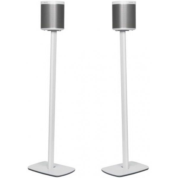 Flexson White Floor Stand For Sonos Play:1 - Pair