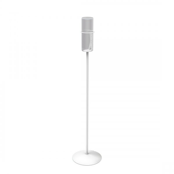ValuConnect Loudspeaker Stand for Amazon Echo 1st Generation/Amazon Echo Plus - White