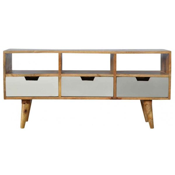 """Mason and Bailey 3 Drawer Media Unit for up to 55\"""" TVs"""