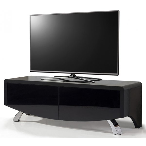 "MDA Wave 1200 Hybrid TV Stand For Up To 60"" - Black"