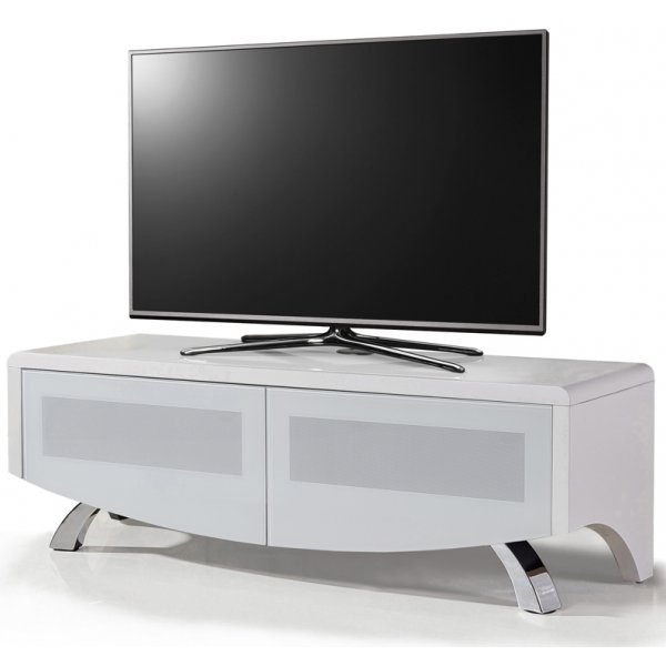 """MDA Wave 1200 Hybrid TV Stand For Up To 60\"""" - White"""