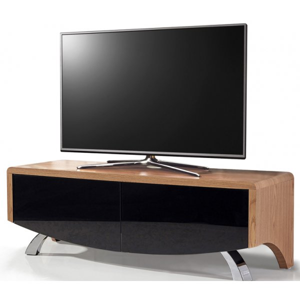 "MDA Wave 1200 Hybrid TV Stand For Up To 60"" - Oak"
