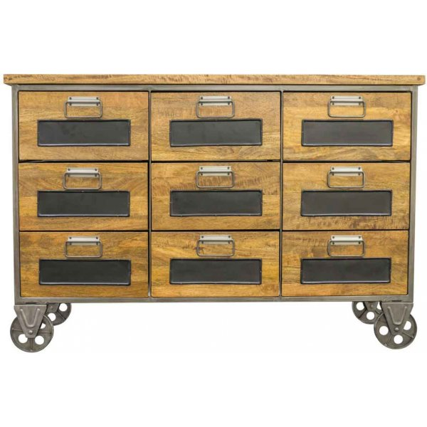 Ultimum Timeless Re-Engineered 9 Drawer Apothecary Chest