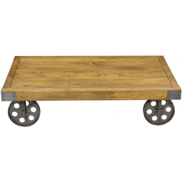 Ultimum Timeless Re-Engineered Coffee Table with Wheels