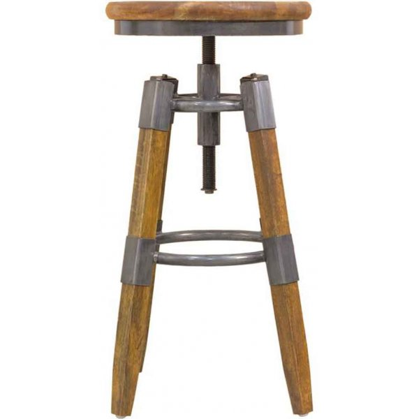 Ultimum Timeless Re-Engineered Wooden Swivel Stool