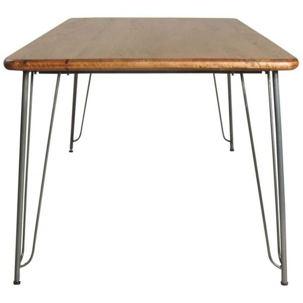 Ultimum Timeless Hairpin Dining Table with Plain Top