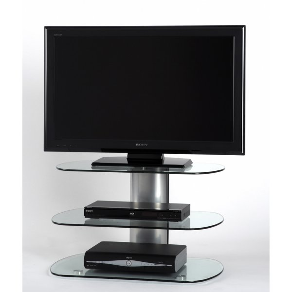 """Off The Wall SKY 800 SIL Skyline TV Stand for up to 40\"""" - Silver"""