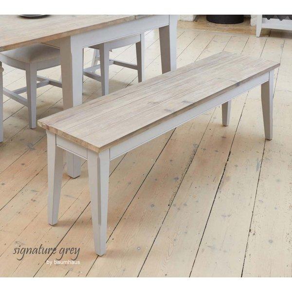 Baumhaus Signature Large Grey Dining Bench
