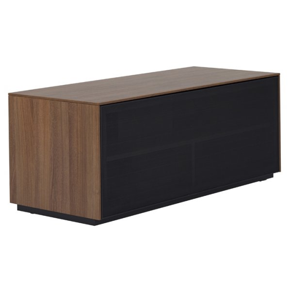 """Off The Wall Outline TV Stand Fully Assembled for up to 50\"""" - Walnut"""