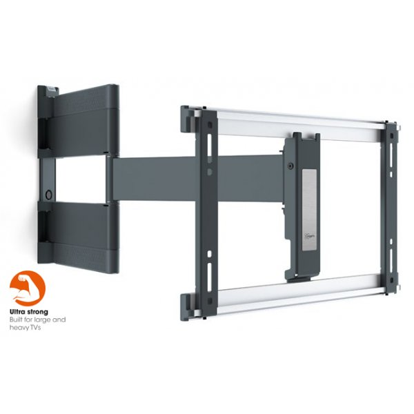 """Vogel\'s THIN 546 Extra Thin Full-Motion Wall Bracket for OLED 40\"""" to 65\"""" - Black"""