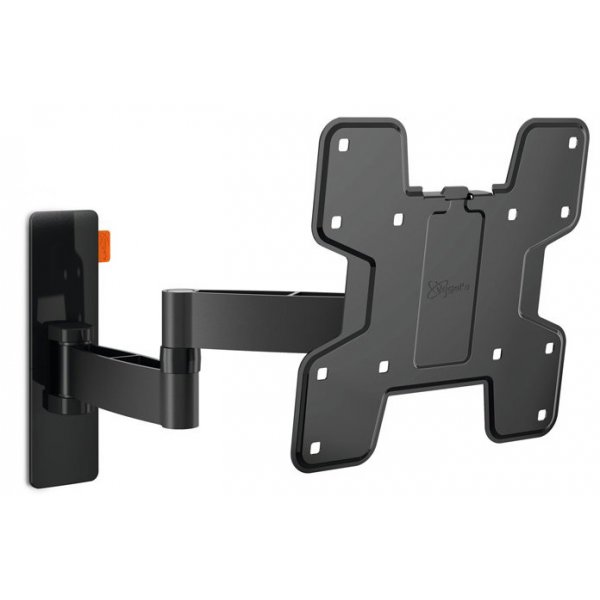 """Vogel\'s Wall 3145 Extra Thin Full-Motion Wall Bracket for 19\"""" to 43\"""" TV\'s - Black"""