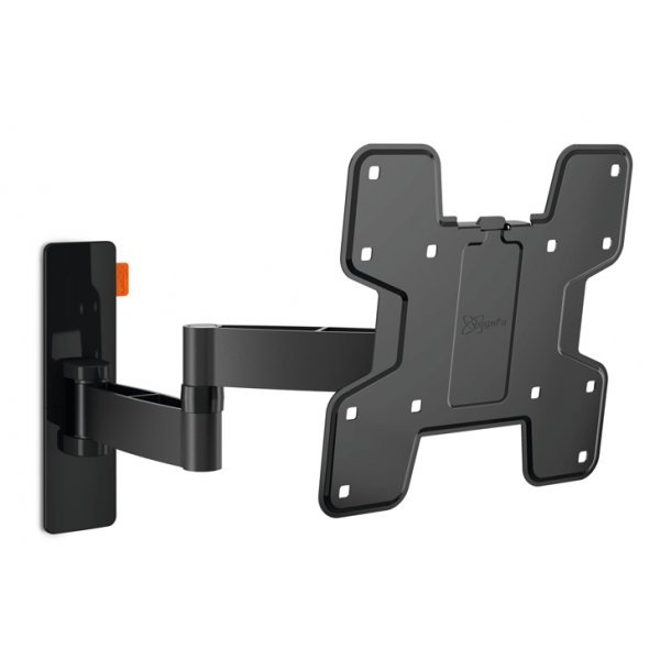 "Vogel\'s Wall 3145 Extra Thin Full-Motion Wall Bracket for 19"" to 40\"" TV\'s - Black"