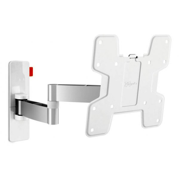 "Vogel\'s Wall 3145 ExtraThin Full-Motion Wall Bracket for 19"" to 43\"" TV\'s - White"