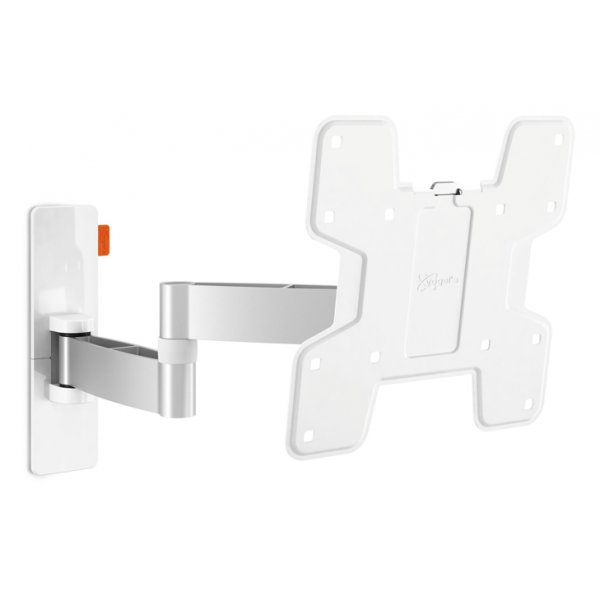 "Vogel\'s Wall 3145 ExtraThin Full-Motion Wall Bracket for 19"" to 40\"" TV\'s - White"