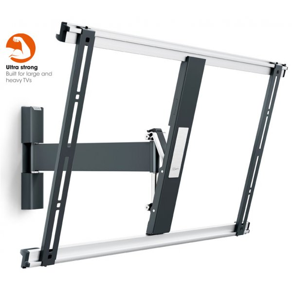 "Vogel\'s THIN 525 ExtraThin Full-Motion Wall Bracket for 40"" to 65\"" - Black"