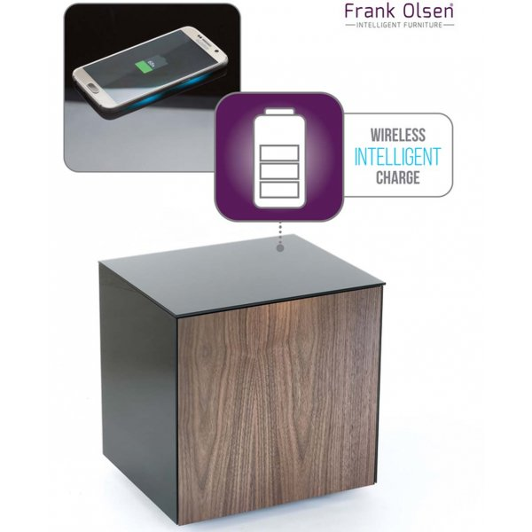 Frank Olsen Intel Black and Walnut Lamp Table
