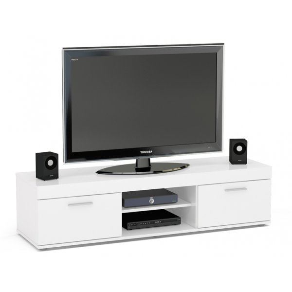 "TNW Carnaby TV Stand Unit for TVs up to 65"" - White"