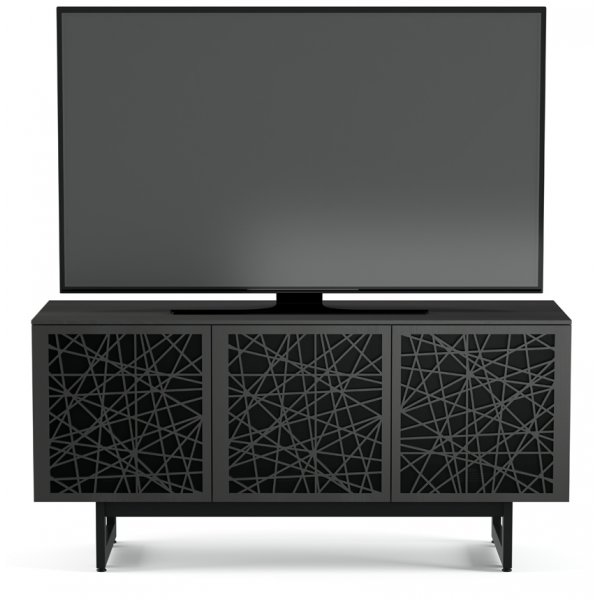 """BDI Elements 8777 Ricochet TV Stand For Up To 70\"""" TV\'s - Charcoal"""