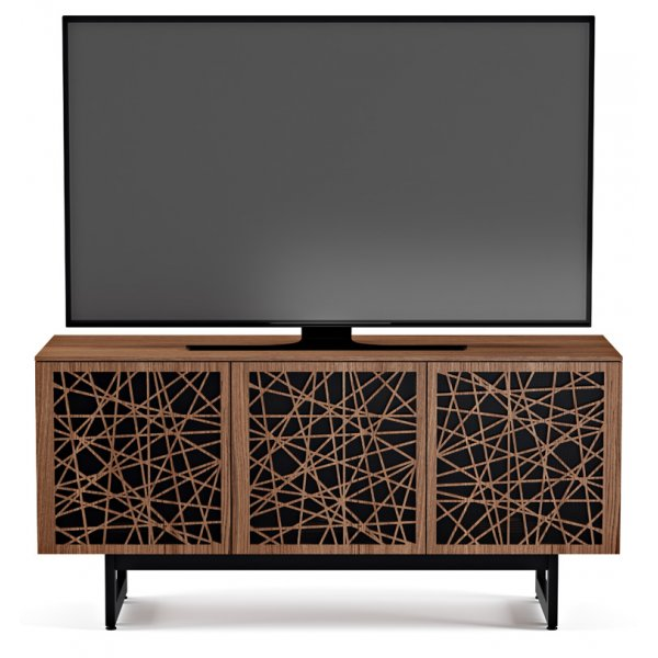 """BDI Elements 8777 Ricochet TV Stand For Up To 70\"""" TV\'s - Walnut"""
