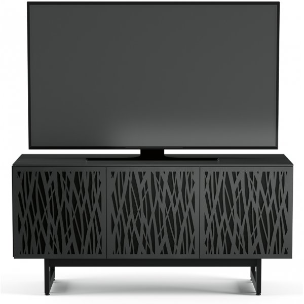 """BDI Elements 8777 Wheat TV Stand For Up To 70\"""" TV\'s - Charcoal"""