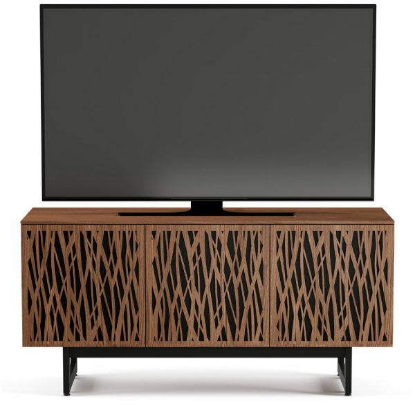 "BDI Elements 8777 Wheat TV Stand For Up To 70"" TV\'s- Walnut"