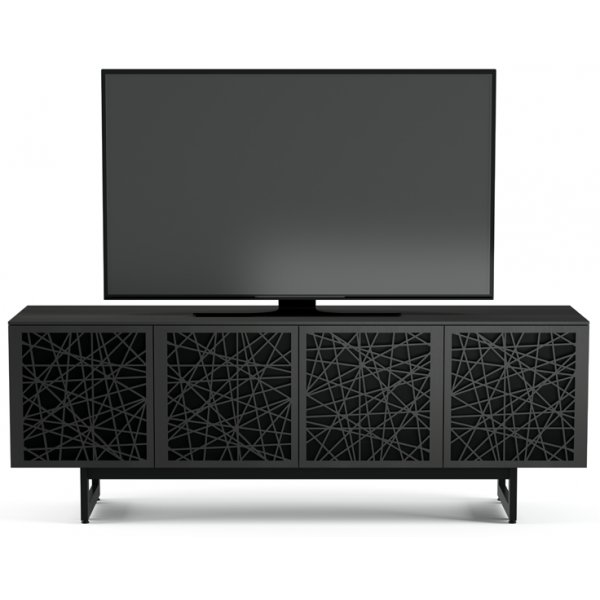 "BDI Elements 8779 Ricochet TV Stand For Up To 80"" TV\'s - Charcoal"