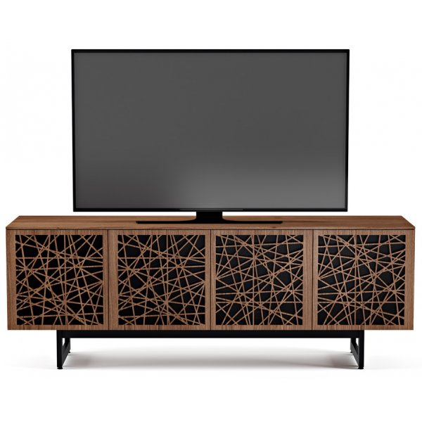 "BDI Elements 8779 Ricochet TV Stand For Up To 80"" TV\'s - Walnut"