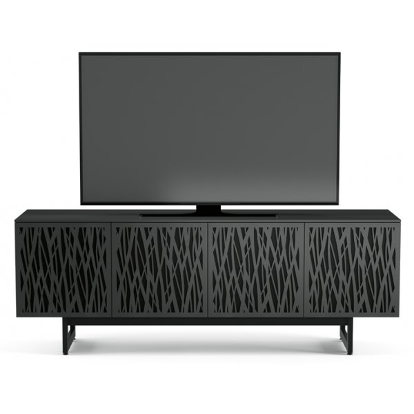"BDI Elements 8779 Wheat TV Stand For Up To 80"" TV\'s - Charcoal"