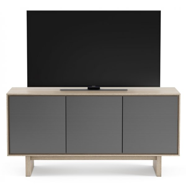 """BDI Octave 8377 TV Stand For Up To 70\"""" TV\'s - Drift Oak"""