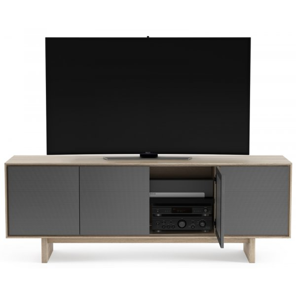 """BDI Octave 8379 TV Stand For Up To 80\"""" TV\'s - Drift Oak"""