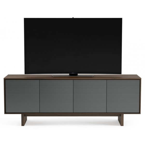 "BDI Octave 8379 TV Stand For Up To 80"" TV\'s - Toasted Walnut"