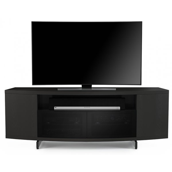 """BDI Sweep 8438 TV Stand For Up To 80\"""" TV\'s - Charcoal"""