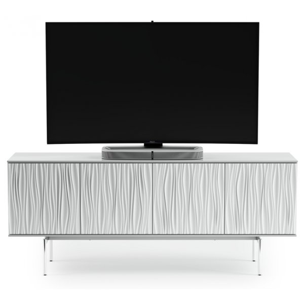 "BDI Tanami 7109 TV Stand For Up To 80"" TV\'s - Satin White"