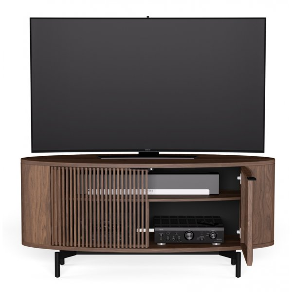 """BDI Olis 9650 TV Stand For Up To 65\"""" - Toasted Walnut"""