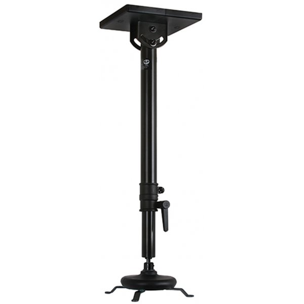 B-Tech Universal Projector Ceiling Mount with Long Adjustable drop