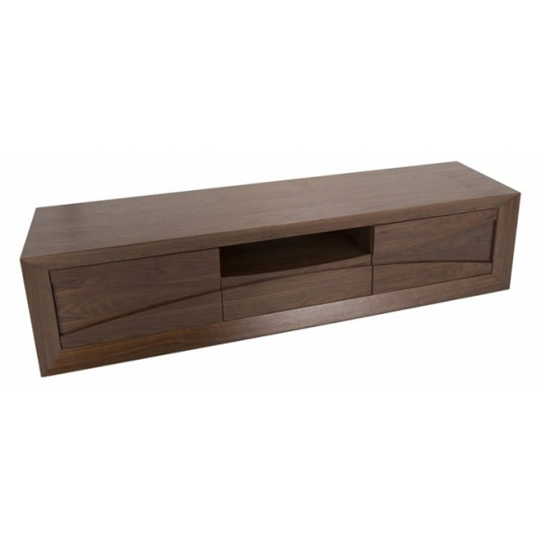 "AVF Grand Flat TV Stand For Up To 85"" - Walnut"